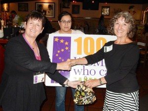 100 Women Who Care donation to Santa Cruz Literacy Program